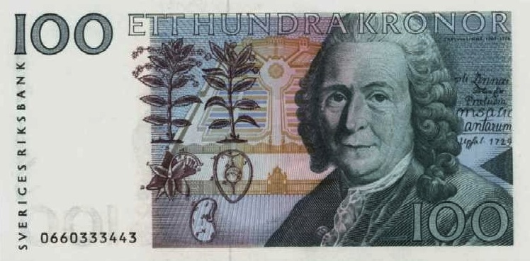 スウェーデンクローナWithdrawn Swedish Krona banknotes, no ...