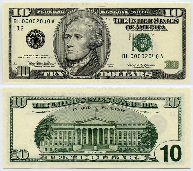 アメリカドルUnited States Dollar - Federal Reserve ...