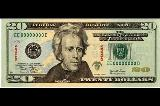 アメリカドルImage of United States twenty dollar bill