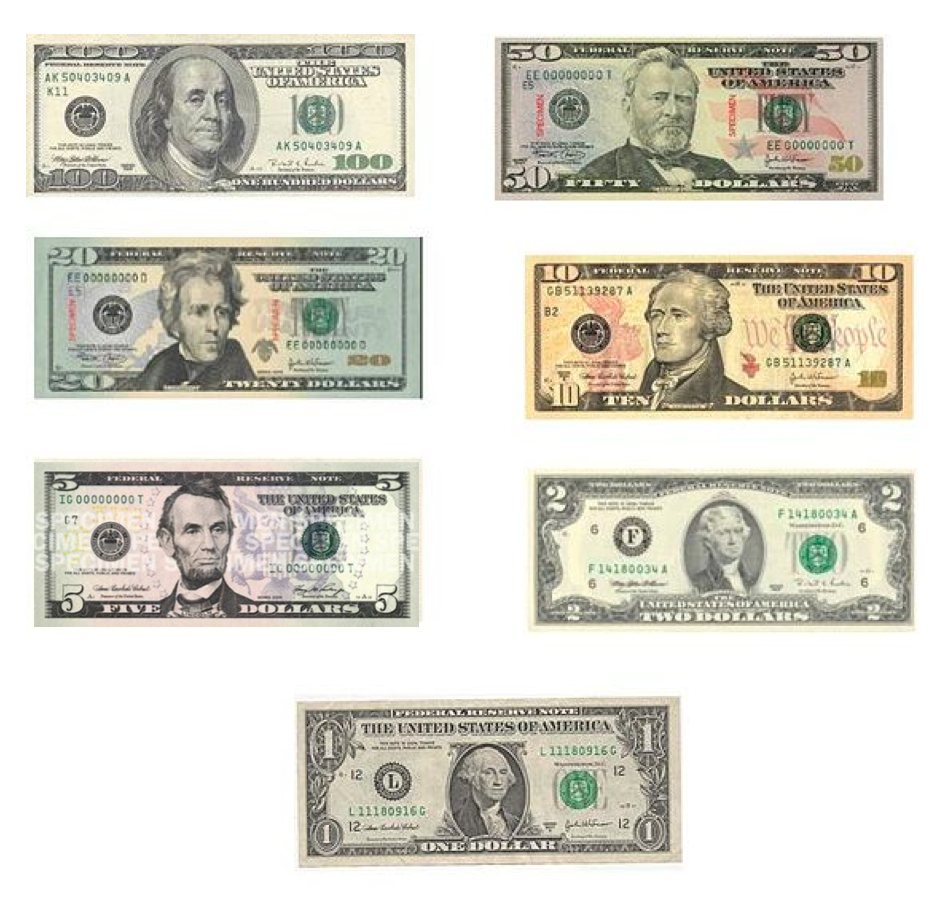 アメリカドルCurrency: United States dollar